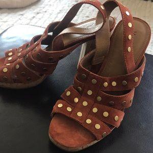 Frye high heel sandals